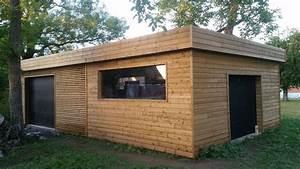 Garage Ossature Bois : garage ossature bois sur lille orchies 59 wood ~ Melissatoandfro.com Idées de Décoration