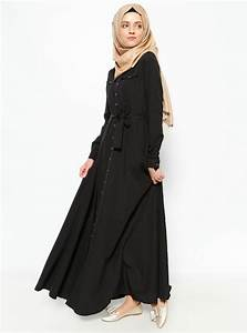 New Arrival Islamic black Abaya Muslim long dress for Women