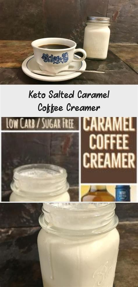 It's super rich and creamy and just melds so (lindsay from pinch of yum recently shared this cashew coffee recipe, which skips the process of making creamer entirely and just blends hot coffee. Keto Salted Caramel Coffee Creamer - A Keto Kitchen #saltdietrecipe in 2020 | Low carb coffee ...