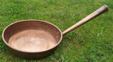 antiques atlas large antique georgian  copper frying pan
