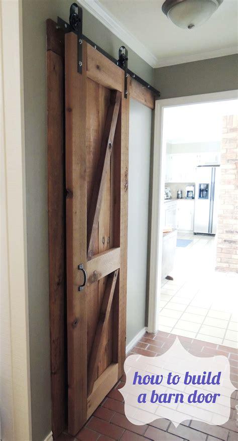 how to build a door barn door do or diy