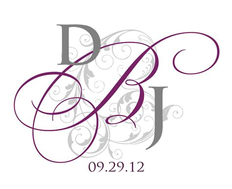 monogram template free templates business cards printable business card sle