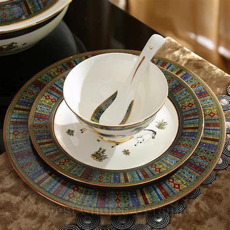 dinnerware china porcelain bone horses god outline sets dinner coffee gift gold wedding dhgate
