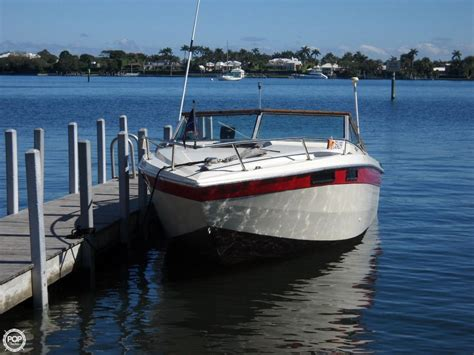 Chris Craft Performance Boats by 1980 Used Chris Craft Scorpion 230 High Performance Boat