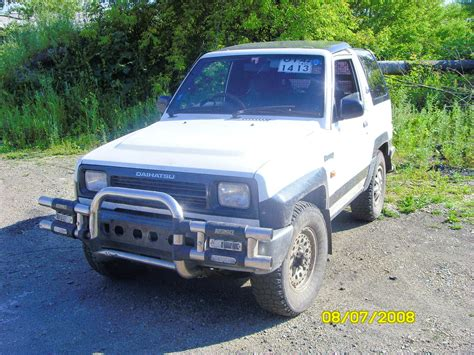 1991 Daihatsu Rocky Pictures 1000cc Gasoline Manual