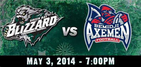 Green Bay Blizzard Vs. Bemidji