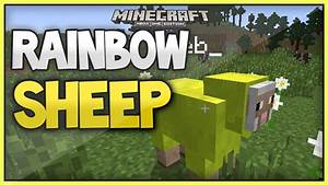 NEWMinecraft RAINBOW SHEEP EASTER EGG XboxOneXbox360
