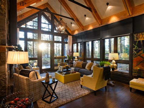 Living Room Ideas Hgtv by Rustic Living Room Ideas Decorating Hgtv Pictures From