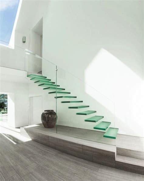 escalier en verre allovitres le blog d 233 co