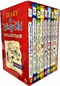 Diary Of A Wimpy Kid Collection 9 Books Box Set Hard Luck