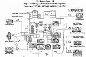 1998 Camry Door Lock Diagram