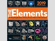 The Elements 2019 12 x 12 Inch Monthly Square Wall