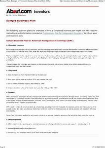 business plan example of sample business plan With nfte business plan template