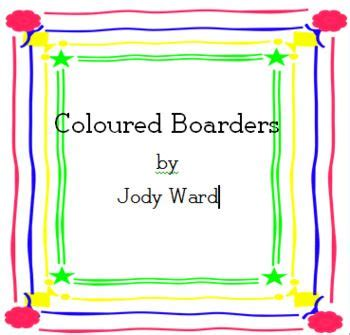 clipart frames boarders  colour frame clipart clip