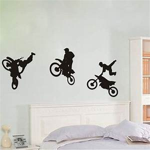 dirt bike wall decals wall decal specialist custom With good look motocross decals for walls