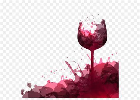 red wine wine glass wedding rsvp fig wine stains