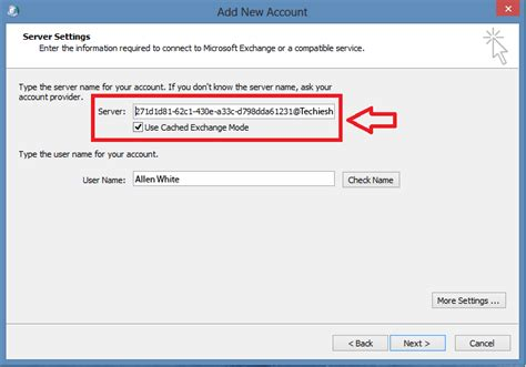 exchange 2013 clients show numbers instead of server name