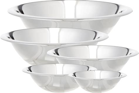 kitchen accessories and decor ideas cook pro 5 stainless steel mixing bowl set reviews
