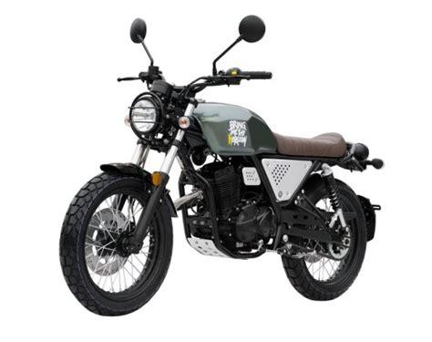 China Scrambler 100cc 125cc Moto 2 Stroke Euro Iv 4