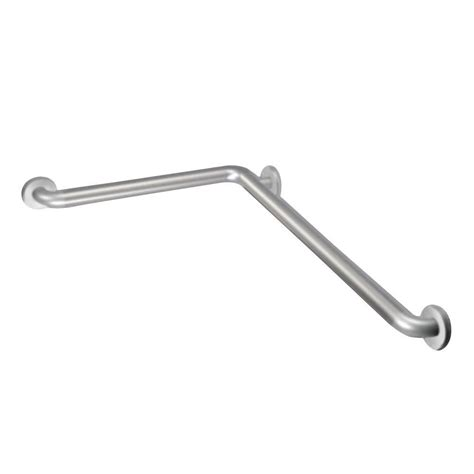 moen 16 inch x 32 inch l shaped grab bar in stainless
