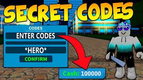 Secret Codes In Roblox Boku No Roblox