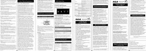 Rca Led46c45rq 1212185l User Manual Led Television Manuals