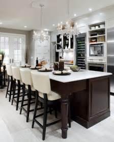chandeliers for kitchen islands brown kitchen island design ideas