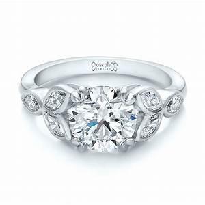 custom marquise diamond engagement ring 100647 With custom diamond wedding rings