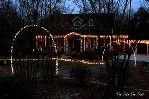 arches the o39jays and end of on pinterest With outdoor christmas lights for driveway