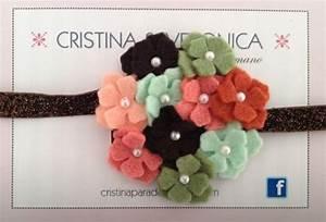 Bandita Ni U00f1a Flor Fieltro  Girl Felt Flower Headband