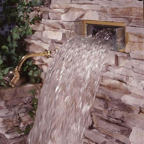 bodyspa waterfall shower head  kohler building