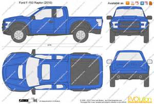 F150 Bed Dimensions by The Blueprints Com Vector Drawing Ford F 150 Raptor