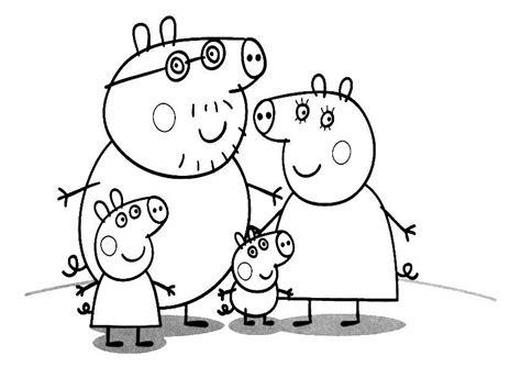 как нарисовать маму свинку домашние животные