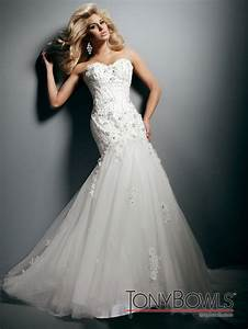 Wedding dress fall 2012 tony bowls for mon cheri bridal for Tony bowls wedding dresses