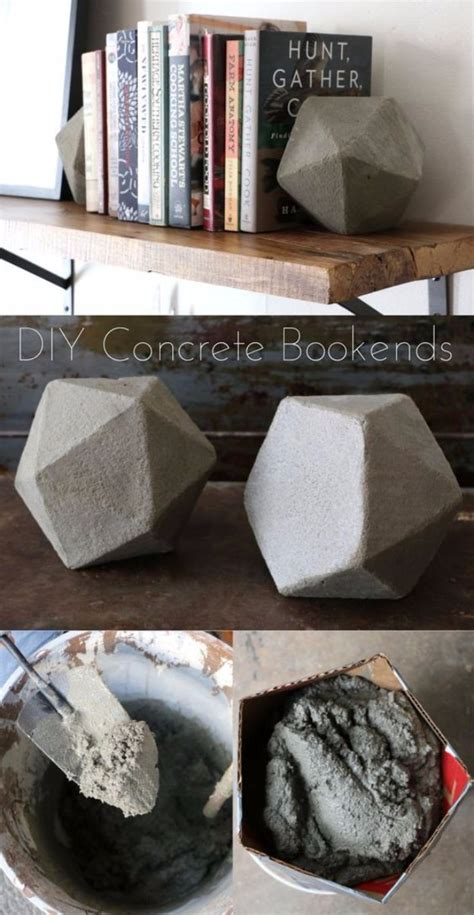 extraordinary diy crafts     concrete