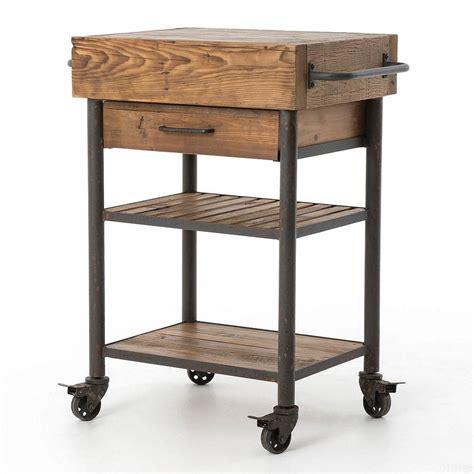 kitchen utility cart wood kitchen cart target nucleus home