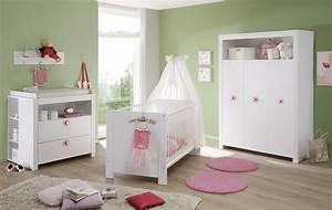 Günstiges Babyzimmer Komplett Set : babyzimmer olivia 5 teilig wei mit rosa ~ Bigdaddyawards.com Haus und Dekorationen
