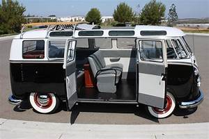 1963 Volkswagen 21 Window Custom Deluxe Bus