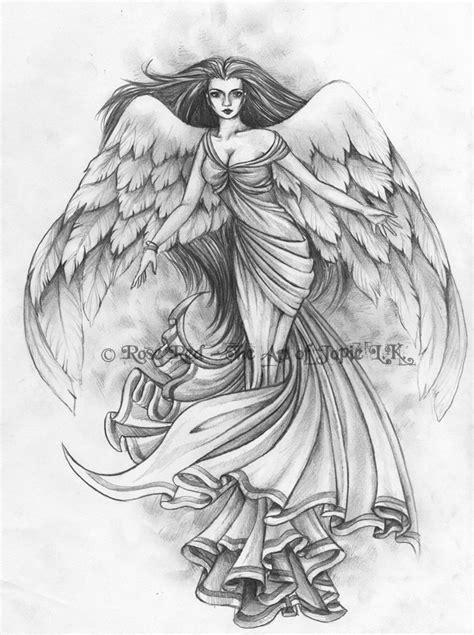 Angel tattoo designs for men, angels tattoo designs