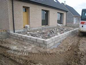 charmant plot beton pour terrasse 9 faire une terrasse With faire une dalle terrasse