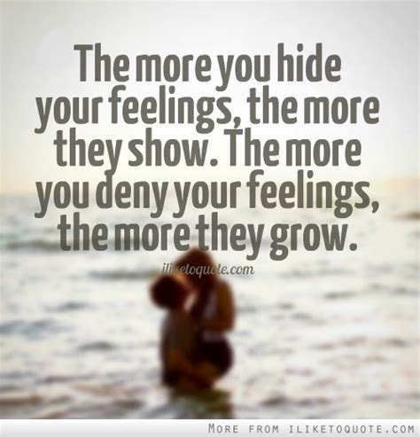 The 100 Best Quotes About Hiding Feelings For Someone - Paulcong