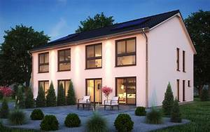 Doppelhaus Fertighaus Schlüsselfertig : fertighaus doppelhaus sh 127 s dhh ~ Frokenaadalensverden.com Haus und Dekorationen