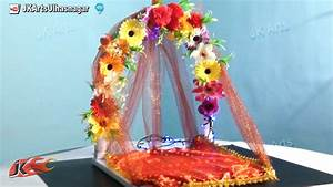 DIY How to make Ganpati makhar JK Arts 671 - YouTube