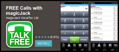 magicjack for android how to make free calls to usa and canada using magic