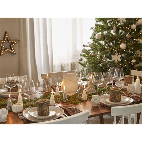 deco de table de noel foret scandinave maisons du monde deco noel pinterest xmas