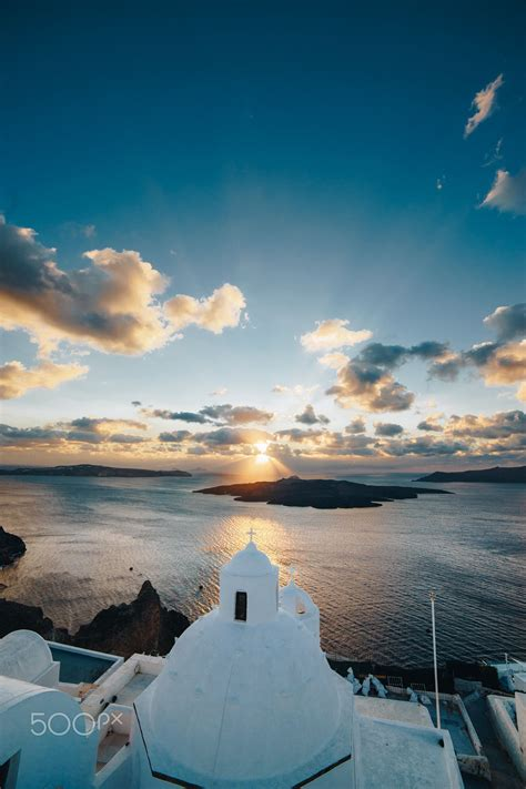 Santorini Ocean View Brandon Neo ΕΛΛΑΔΑ Pinterest