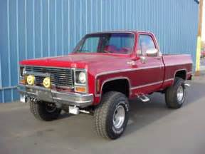 1980 Chevy Short Box 4x4