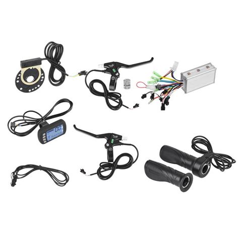 aliexpress buy 36v 48v 250w 350w brushless e bike bycicle controller with lcd panel brake