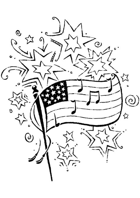 printable   july coloring pages   fun  independence day