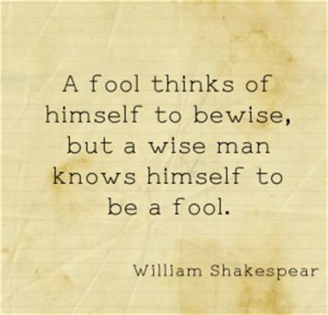 Shakespeare Quotes About Foolish Love